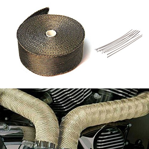 10m-titanium-car-motorcycle-exhaust-manifold-downpipe-heat-wrap-roll-10pcs-stainless-cable-ties