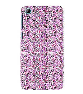 ifasho Designer Phone Back Case Cover HTC Desire 826 :: HTC Desire 826 Dual Sim ( Black Skull Ghost )