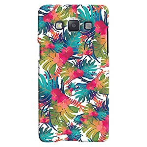 ColourCrust Samsung Galaxy E5 Mobile Phone Back Cover With Colourful Abstract Art - Durable Matte Finish Hard Plastic Slim Case