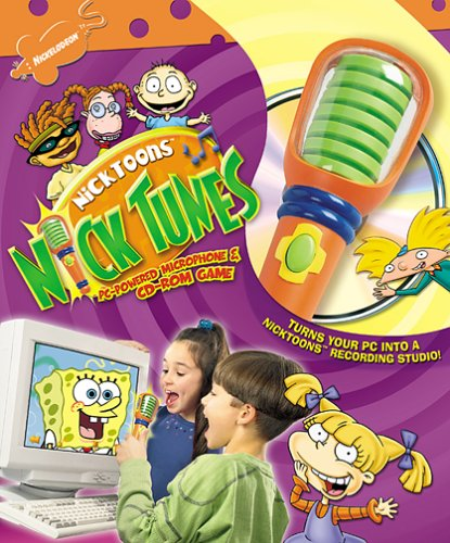 Nicktoons Nick Tunes Microphone And Cd-Rom Game - Pc