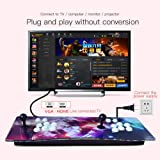 SHZONS Pandora's Key 7 3D Home Arcade Game Console,Includes 1147 HD Games,Full HD(1920x1080),2 Player Game Controls,TF SD Ports(add More Games) for PC/Laptop/TV/PS3 Controller (Color: As Shown, Tamaño: US)