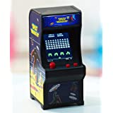 Tiny Arcade Space Invaders Miniature Arcade Game (Color: Yellow)