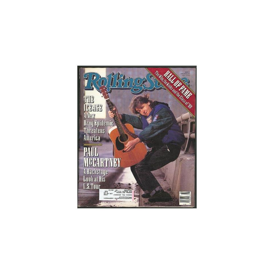 ROLLING STONE Paul McCartney Daniel Day Lewis Crystal Meth 2/8 1990