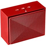 AmazonBasics Ultra-Portable Mini Bluetooth Speaker - Red