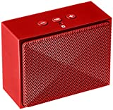 AmazonBasics Mini Portable Bluetooth Speaker - Red