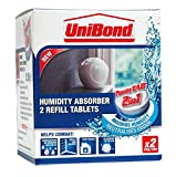2X Unibond 300g Humidity Absorber Power Tab Refills (Pack of 2)