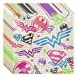 Justice League Girl Luncheon Napkins - 48 Pieces