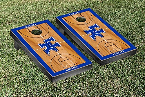 Kentucky UK Wildcats Cornhole Game Set Basketball Court Version (Corn Hole Kentucky compare prices)