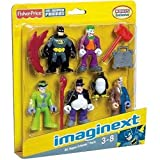 Imaginext DC Super Friends Pack Batman etc to go with batcave
