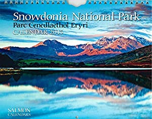 Snowdonia National Park - 2015 Wall Calendar - Month Per Page - 12 Images