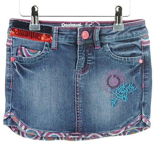 Desigual Kids Mädchen 47F3119 Jeans Rock FIYI Größe 110/ 116-5-6J thumbnail