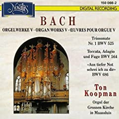 Pr�ludium und Fuge d-Moll BWV 554