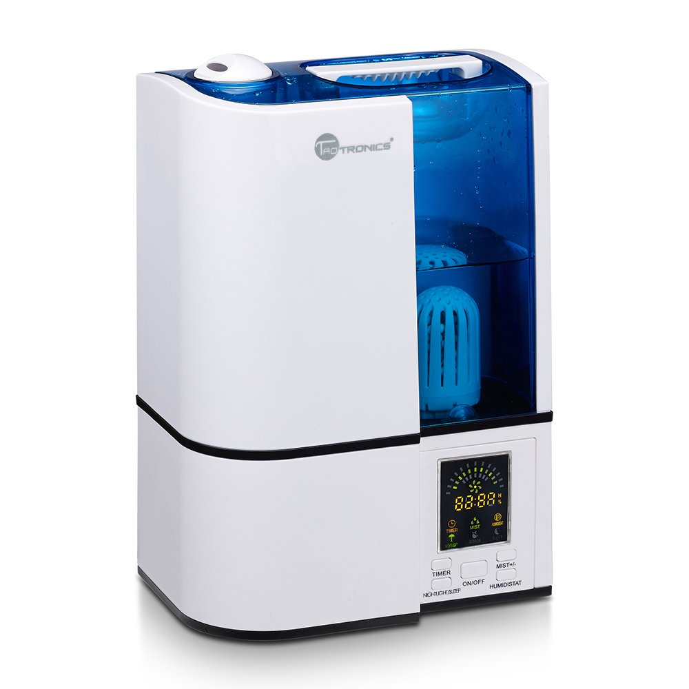 TaoTronics Ultrasonic Cool Mist Humidifier: The Ultra-Safe Model