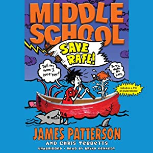 Middle School: Save Rafe! Audiobook