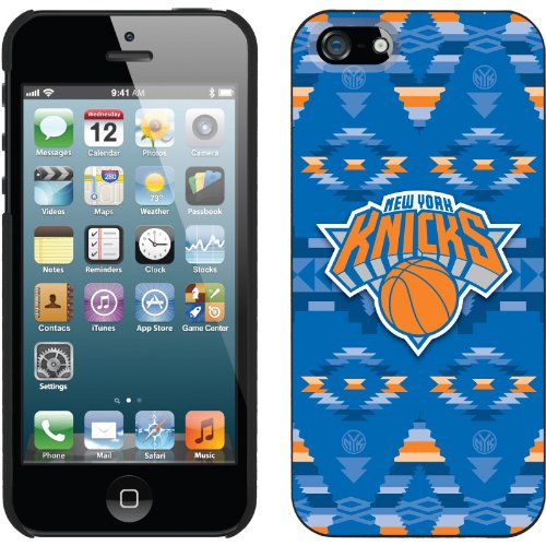 Best Price New York Knicks - Tribal Print design on a Black iPhone 5s / 5 Thinshield Snap-On Case by Coveroo