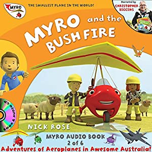 Myro and the Bush Fire Audiobook