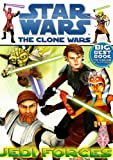 Star Wars the Clone Wars: Jedi Forces [With Stickers] (Big Best Book to Color)