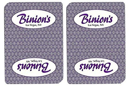Top Deck Cards:Binion's Authentic Casino Playing Cards - 1 Dozen