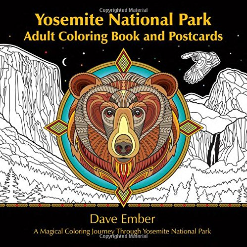 Yosemite-National-Park-Adult-Coloring-Book-and-Postcards