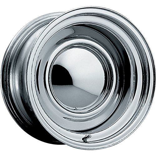 Pacer Smoothie 15x8 Chrome Wheel / Rim 5x5 & 5x5.5 with a -6mm Offset and a 94.20 Hub Bore. Partnumber 03C-5853 (1994 Chevy Caprice Rims compare prices)