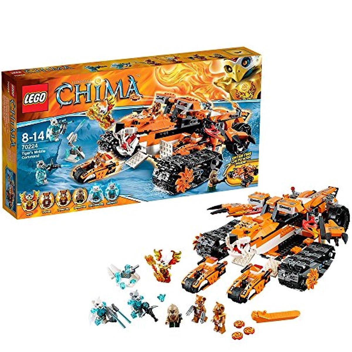 [해외] 레고 (LEGO) 찌마 타이거족의 이동 기지 70224-70224 (2014-12-26)