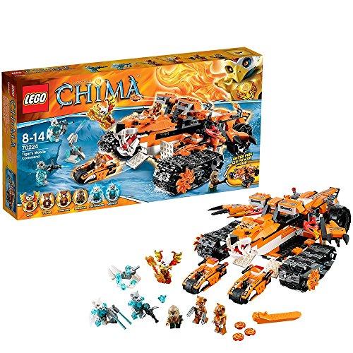 LEGO Chima 70224 - Comando Mobile di Tiger