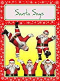 Santa Says (A fun way to get overexcited children into bed)
