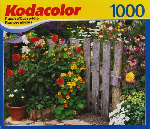 Kodacolor 1000 Piece Puzzle - Painted Ladies Collection - 701 Louisiana Street, Lawrence Kansas Victorian Home Built in 1887