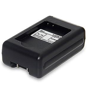 Battery Charger for Nokia BL-6P BL-6Q BL-5B BL-5C BL-4C and VIVITAR ViviCam 8027 8225 T328 3220 DVR-805HD DVR-850W