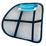 Guilty Gadgets ® - Mesh Ergonomic Lumbar Back Support Car Van Home Office Seat Chair Car Office And Home