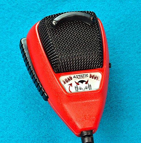 Noise Canceling Power Mic Cb / Ham Radio 4 Pin Astatic Rd104E-4B Road Devil (302-10036)