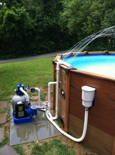 Amazon Com Hayward Sp1091lx Dyna Skim Above Ground Pool