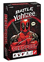 BATTLE YAHTZEE: Marvel Deadpool Board Game  Game