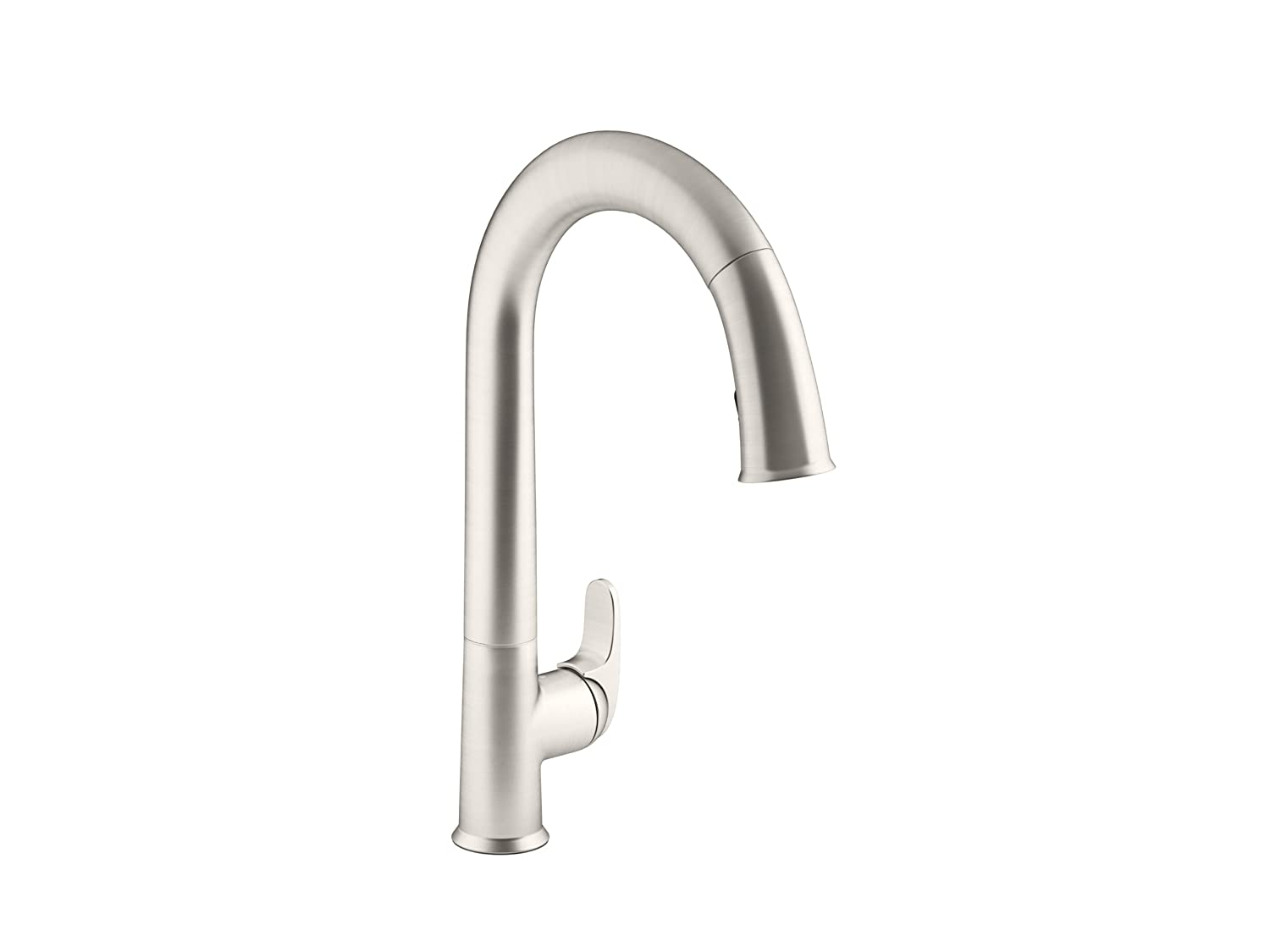 Capable Of Retracting From Any Point Kohler Sensate Hands Free Kitchen  Faucet