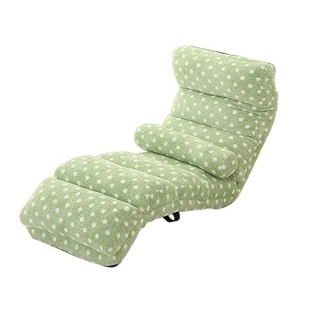L-R-S-F Sofá perezoso, plegable simple, estilo japonés, extraíble y lavable, silla del ordenador del piso, balcón Ventana de bahía ( Color : 1# )