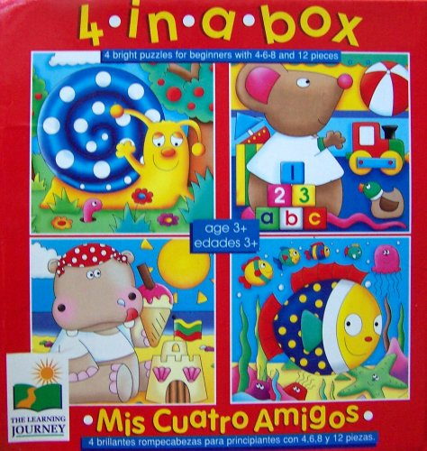 Picture of The Learning Journey 4 in a Box (Mis Cuatro Amigos) Puzzles (B000BKX7BI) (Brain Teasers)