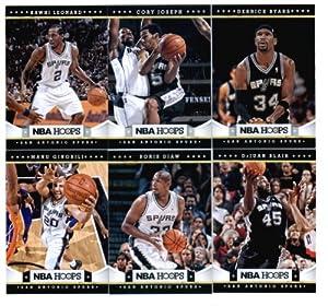 2012-13 Panini NBA Hoops San Antonio Spurs Team Set (10 Cards) Tim Duncan, Manu... by 2012 13+Panini+NBA+Hoops
