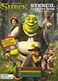Shrek Stencil Activity Book: With Stickers