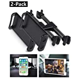 LHJRY Car Headrest Mount, [2 - Pack] Tablet Headrest Holder Compatible with Devices Such as iPad Pro Air Mini, Smartphones, Tablets, Google Nexus, Switch, Other 4.7-11