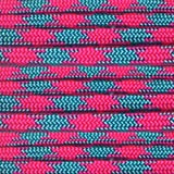 Paracord Planet Nylon 550lb Type III 7 Strand Paracord Made in the U.S.A. -Cotton Candy -