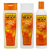Cantu Shea Butter Shampoo + Hydrating Conditioner + Curl Activator Cream
