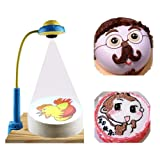 JIAWANSHUN DIY Cake Projector Pictures Projector for Cakes and Cookies Sketching Projector Painting Template Projector for Children Gifts with 88 Patterns Cartoon Images (the Second set of patterns) (Color: the Second Set of Patterns)