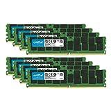 Crucial Bundle with 256GB (8 x 32GB) DDR4 PC4-21300 2666MHz RDIMM (8 x CT32G4RFD4266), Dual Ranked Registered ECC Memory (Tamaño: 256GB (8 x 32GB) DDR4 2666MHz)