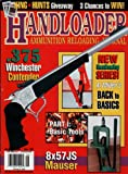 Handloader Magazine- August 1996 - Issue Number 182