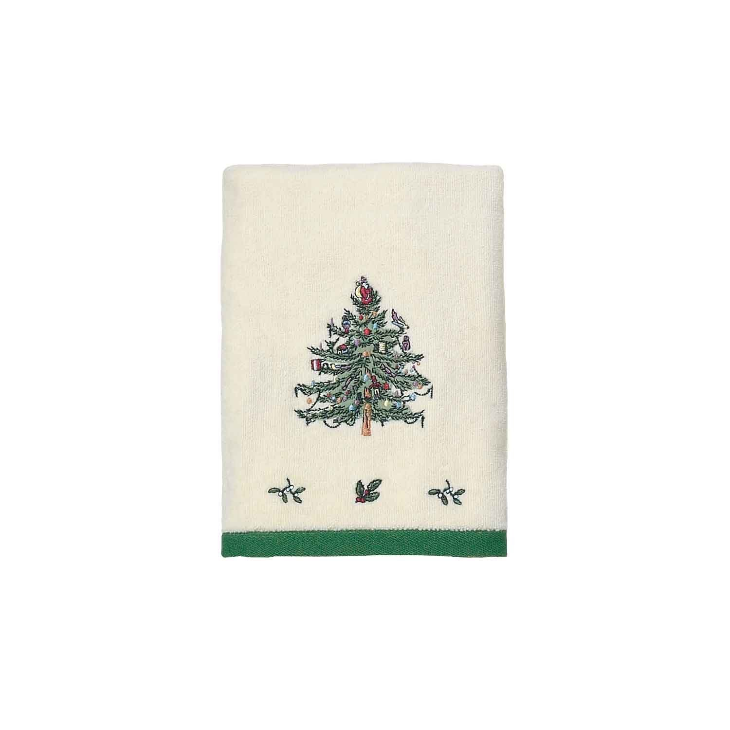 Spode Christmas Tree Hand Towel