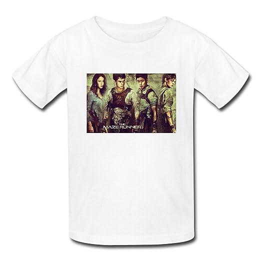 North Mens Custom Cotton The Maze Of Runner Short Sleeve T-shirt£¨USA Size£© XL White