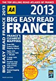 AA Publishing AA Big Easy Read France 2013 (Road Atlas)