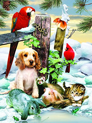 Winter Warmth 1000 Pc Jigsaw Puzzle by Sunsout