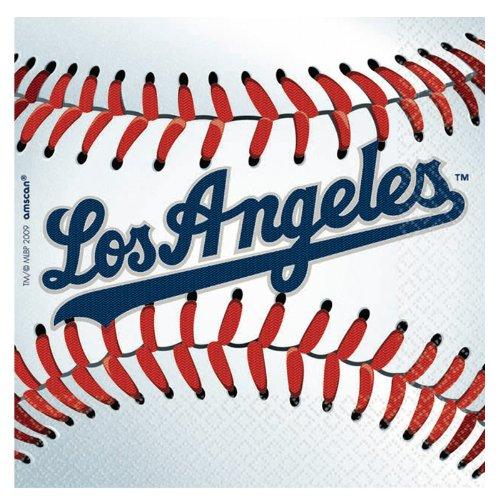 Dodgers Beverage Napkins Package of 36