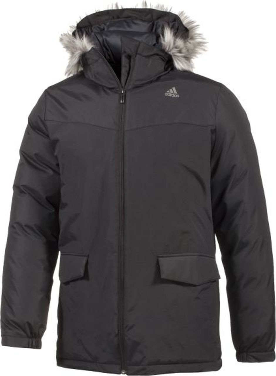 adidas Herren Jacke SDP Jacket Long Fur